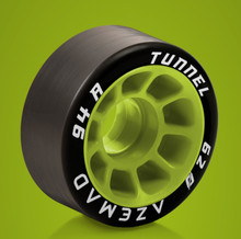 Azemad Quad Skate Wheels Tunnel (94A)