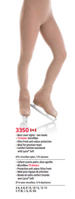 MONDOR STYLE: 3350 Boot cover Performance Tights - size 4-6 Light Tan