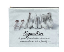 Synchro Skating Definition COSMETIC BAG (Makeup case)