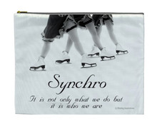 Synchro Who We Are COSMETIC BAG (Makeup case)