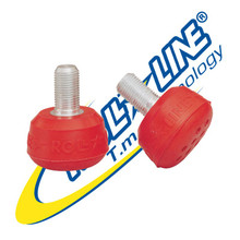 Super professional Roll Line toe stops Red