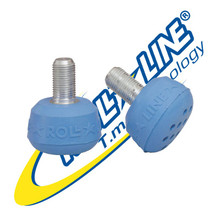 Professional Roll Line toe stops Blue