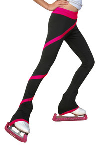 Spiral Pants P06 FS (Fuchsia) Size Child Extra Large/Adult Extra Small
