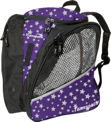 Transpack Back Pack Bag - Purple Star