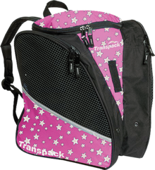 Transpack Back Pack Bag - Pink Star