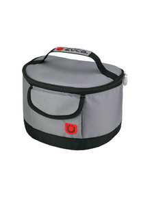 LUNCHBOX, GRAY/RED