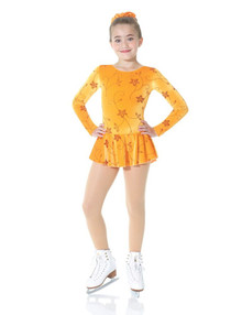 Mondor Skating Dress Style 2723, Clematis - 4M