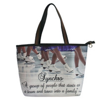 SYNCHRO SKATING DEFINITION TOTE BAG