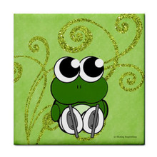 SKATING FROG SKATE TOWEL