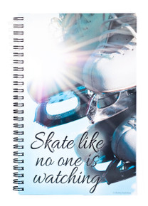 SKATE NO ONE WATCHING NOTEBOOK