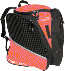 Transpack Back Pack Bag - Pink/Orange Zebra