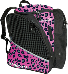 Transpack Back Pack Bag - Pink Leopard