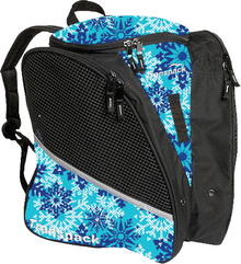 Transpack Back Pack Bag - Aqua Snowflake