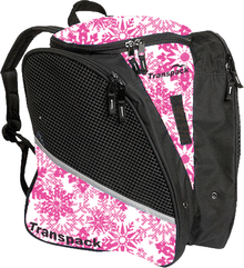 Transpack Back Pack Bag - Pink Snowflake