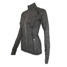 PRO- Performance Fit Jacket Dark Grey Melange