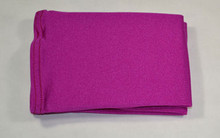 Fuchsia boot covers