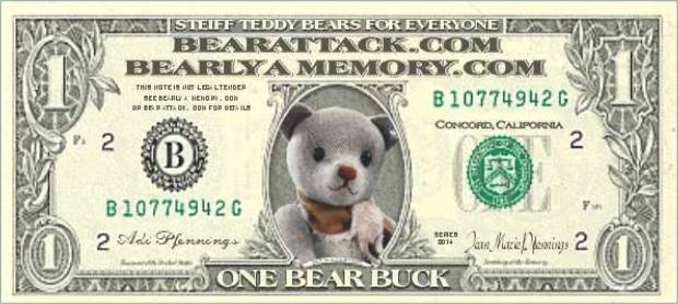 Be sure to use the coupon code: Bear Bucks For Me!