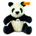 EAN 060182 Steiff mohair Pummy panda, black/white