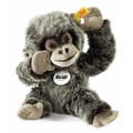 EAN 062292 Steiff woven fur Gora baby gorilla, gray tipped
