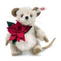 EAN 006630 Steiff alpaca Lucy mouse, gray/white