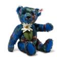 EAN 006708 Steiff mohair Claude designer's choice Teddy bear, multi colored
