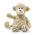 EAN 060298 Steiff plush soft cuddly friends Bingo monkey, beige