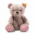 EAN 113673 Steiff plush soft cuddly friends Beatrice Teddy bear, rose brown