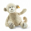 EAN 060366 Steiff plush soft cuddly friends Bingo monkey, beige