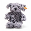 EAN 083563 Steiff plush soft cuddly friends Toni dog, blue gray