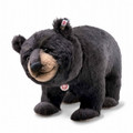 EAN 006289 Steiff alpaca Mr. Big black bear, black