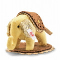 EAN 006265 Steiff silk Steffi designer's choice little elephant, gold