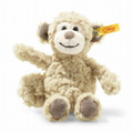 EAN 060373 Steiff plush soft cuddly friends Bingo monkey, beige