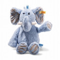 EAN 062544 Steiff plush soft cuddly friends Earz elephant, blue