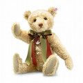 EAN 690761 Steiff British Collectors mohair Teddy bear 2019, blond