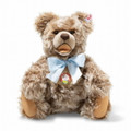 EAN 006531 Steiff mohair Peter's zotty Teddy bear, caramel tipped