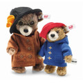 EAN 690501 Steiff mohair Aunt Lucy and Paddington mini set, chestnut/brown
