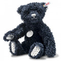 EAN 007026 Steiff floral paper plush Tomorrow After Midnight Teddy bear, midnight blue