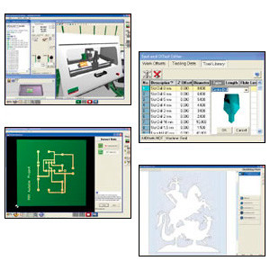 VR CNC Milling / Operating Software