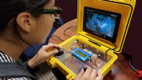 Professional Class ROV – Type D -  Joystick Controlled with Arduino Processor.