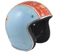"Origine Jet 3/4 DOT-Approved Motorcycle Helmet featuring ""One"" Paint Scheme - Overview"