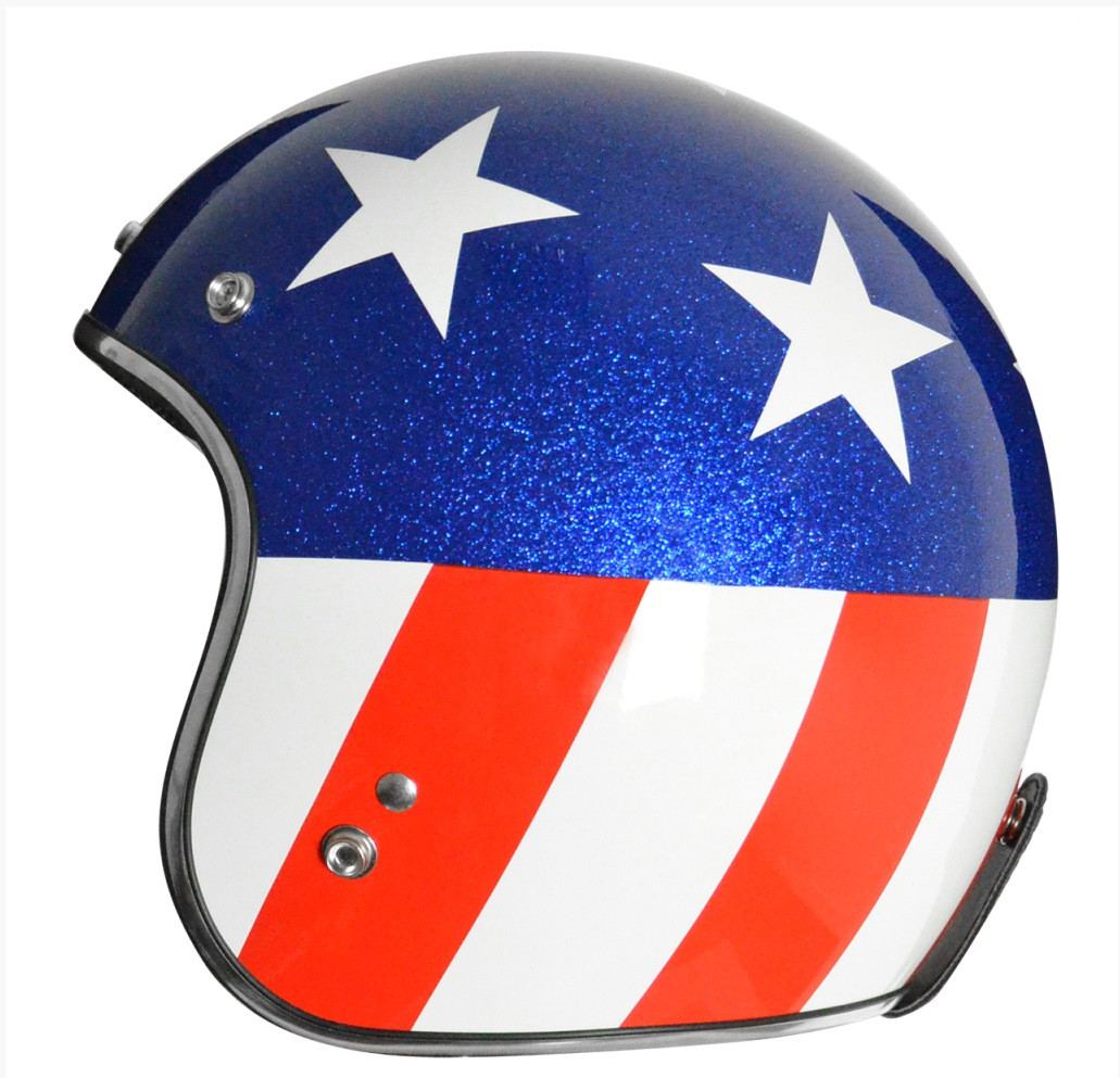 Origine Jet 3 4 Dot Helmet Captain Easy Rider