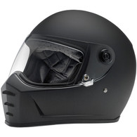 Biltwell Lane Splitter Full Face Helmet in Flat Black - Overview