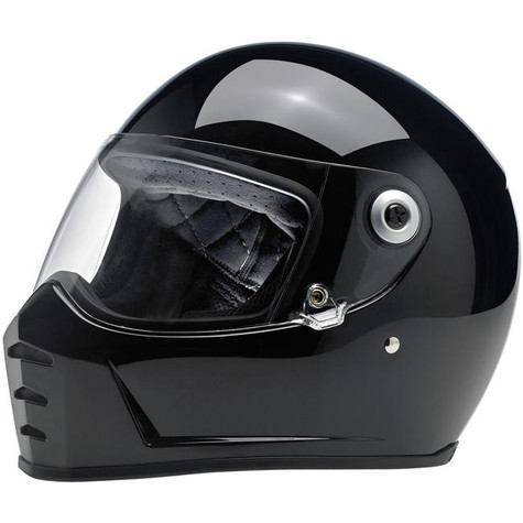 Biltwell Lane Splitter Full Face Helmet in Gloss Black - Overview
