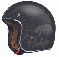 Torc T50 Grizzly Black Flake Moto Helmet