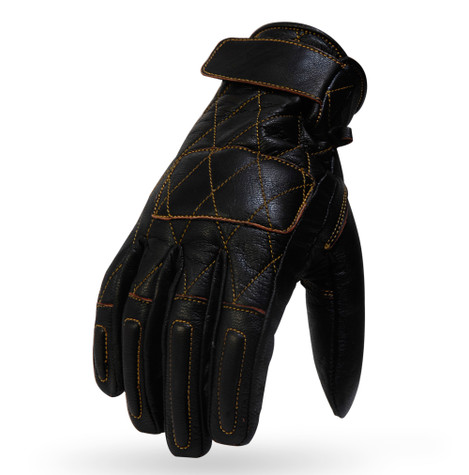 Torc Silver Lake Motorcycle Gloves in Brown Leather