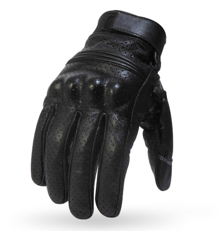 Torc Fairfax Armored Leather Gloves in Black