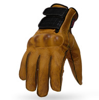 Torc Melrose Leather Gloves in Gold
