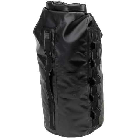 Biltwell EXFIL-115 Waterproof Motorcycle Bag in Black - Overview Front Vertical