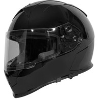 Torc T-14 DOT-Approved Full Face Motorcycle Helmet in Gloss Black - Overview