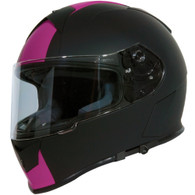 Torc T-14 Full Face Helmet with Blinc Bluetooth with Speed and Style Stripes in Pink - Overview #2